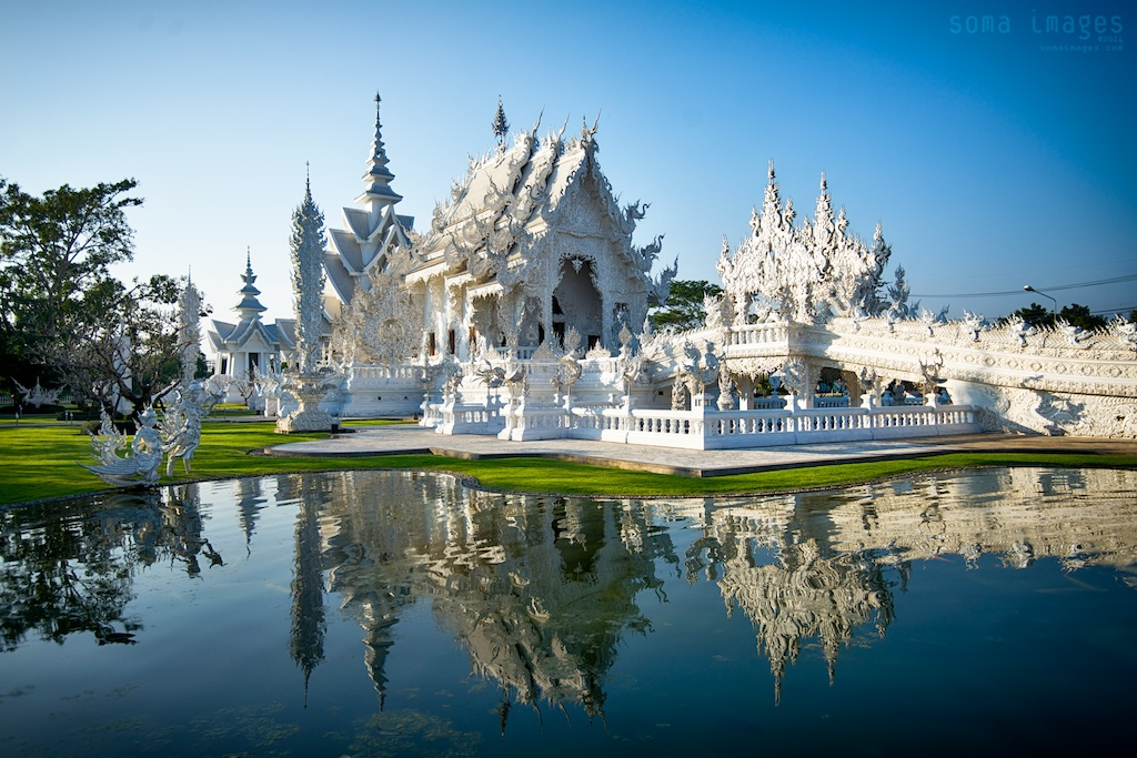 Wat Rong Khun The White Temple Chiang Rai Thailandsoma