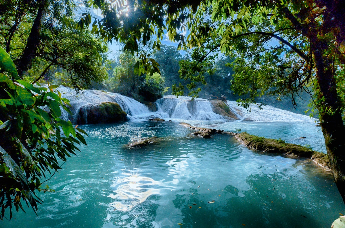 Pathway Pictures Agua Azul And Misol Ha Chiapas Mexicosoma Images