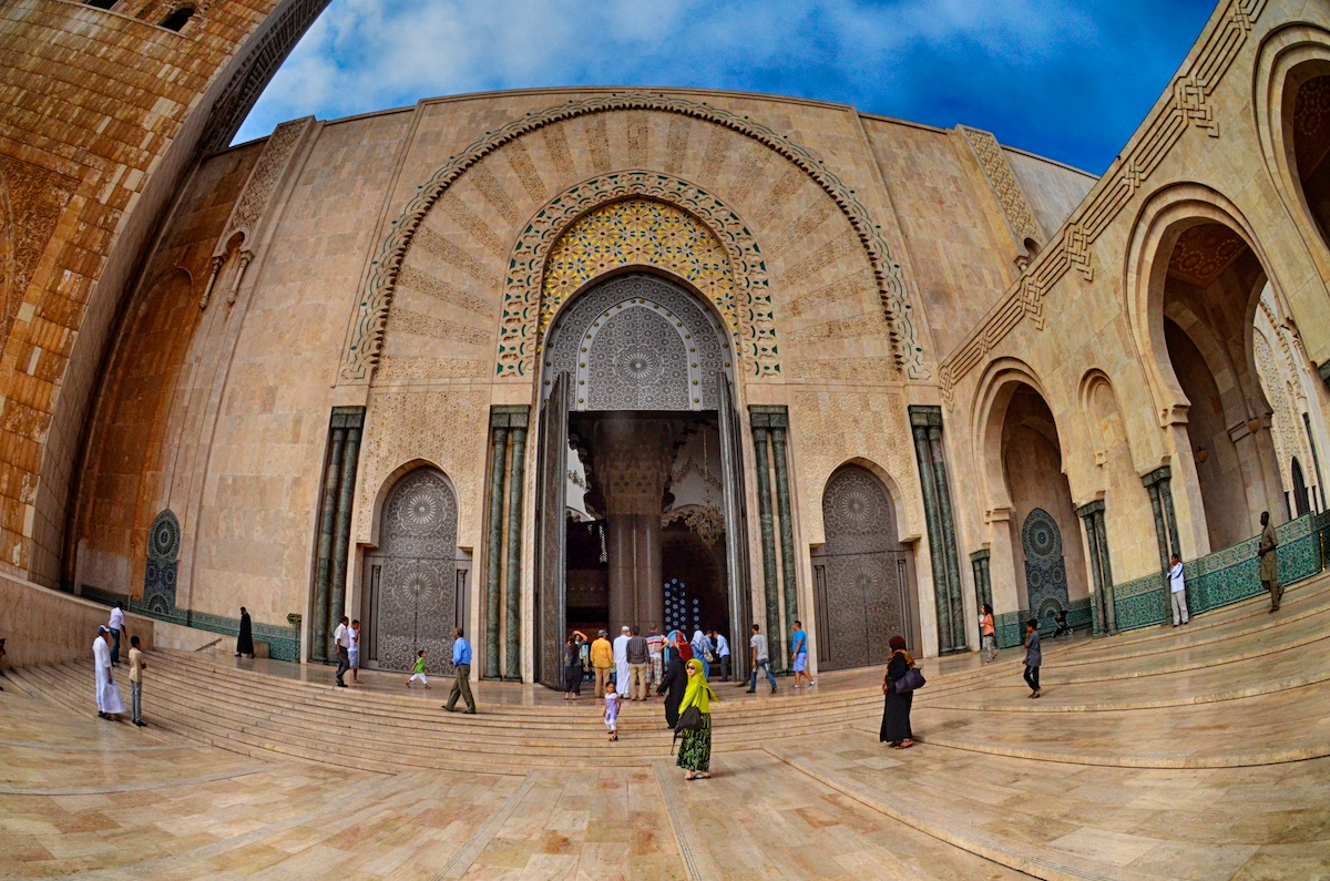 How Much Is Titanium Worth >> Hassan II Mosque, Casablanca, MoroccoSoma Images