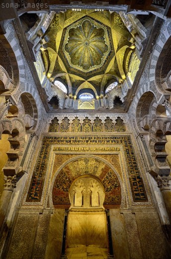 Mezquita de Córdoba, or Cordoba Mosque in Cordoba, Spain